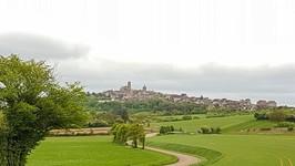 L'arrivée sur Vezelay