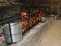 Préparation du repas à Zugarramurdi