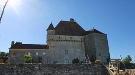 Chateau de Rosière à Saint-Seine sur Vingeanne