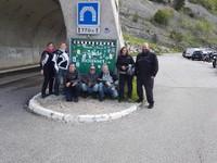 L'équipe au complet au col du Rousset