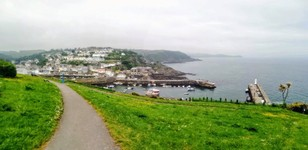 le village de Mevagissey et son port