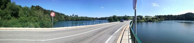 Panorama Lac de Robertville