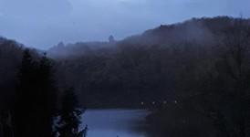 Brume du matin sur le lac  du Chalet du Lac