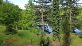 Vue de La terrasse  - Chalet du Lac