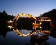 Pont du Dognon sur le Taurion de Nuit -Haute-Vienne