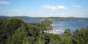 Vue du Lac Vassivière