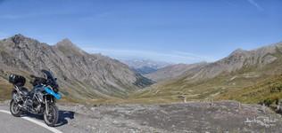 A 500m avant le Col d'agnel versant Français