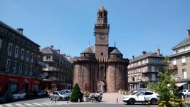 Porte Horloge Vire centre