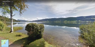 Lac de Joux vu du Lieu