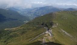Vue du haut du Puy Mary