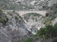 Pont du canal d'irrigation