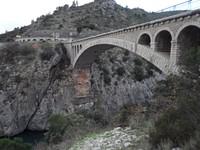 Pont de la D27 sur l'Hérault à St-Jean-de-Fos