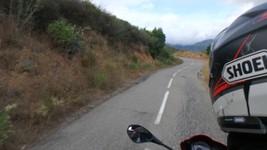 """Route """"difficile"""" entre Ponte Novo et Lento"""