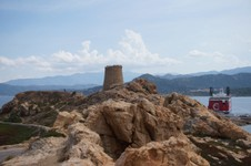 Tour génoise, presqu'île de Pietra - L'île Rousse
