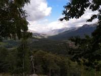 Calacuccia depuis la montée vers le col du Verghio