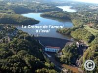 Lac et Barrage D'Eguzon