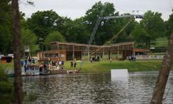 Téléski du plan d'eau de Ligny - Sensas'Park