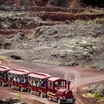 visite de la mine en train