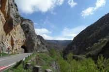 On longe la Rio Iregua avant d'entrer dans la Sierra Cebollera