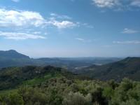 La A-369 vous offre un panorama magnifique sur la partie basse de la Province de Malaga