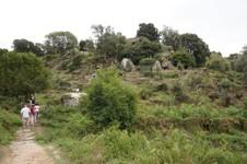 Le site de Filitosa depuis le grand olivier millénaire