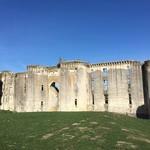 Les ruines de la Ferté