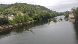 Cahors : depuis le pont Valentre