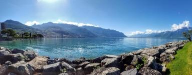bord du lac Leman - Clarens