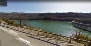 Lac et barrage de Vouglan