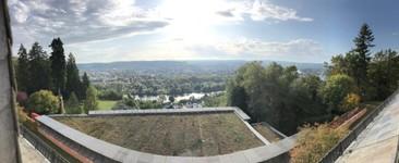 vue sur Treves depuis l hotel R Hausmann