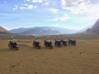 voyage à moto au Ladakh
