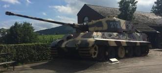 La Gleize - Royal Tiger Tank