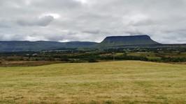 Le Ben Bulben au nord de Sligo