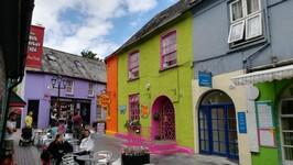 Kinsale et ses maisons colorées