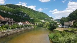 Saint-Ursanne (Depuis Pont de Saint-Jean)