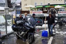 Fin juin : la pelle à neige